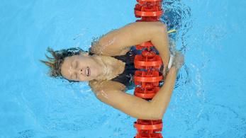 Felépült a koronavírusból az olimpiai bajnok úszónő