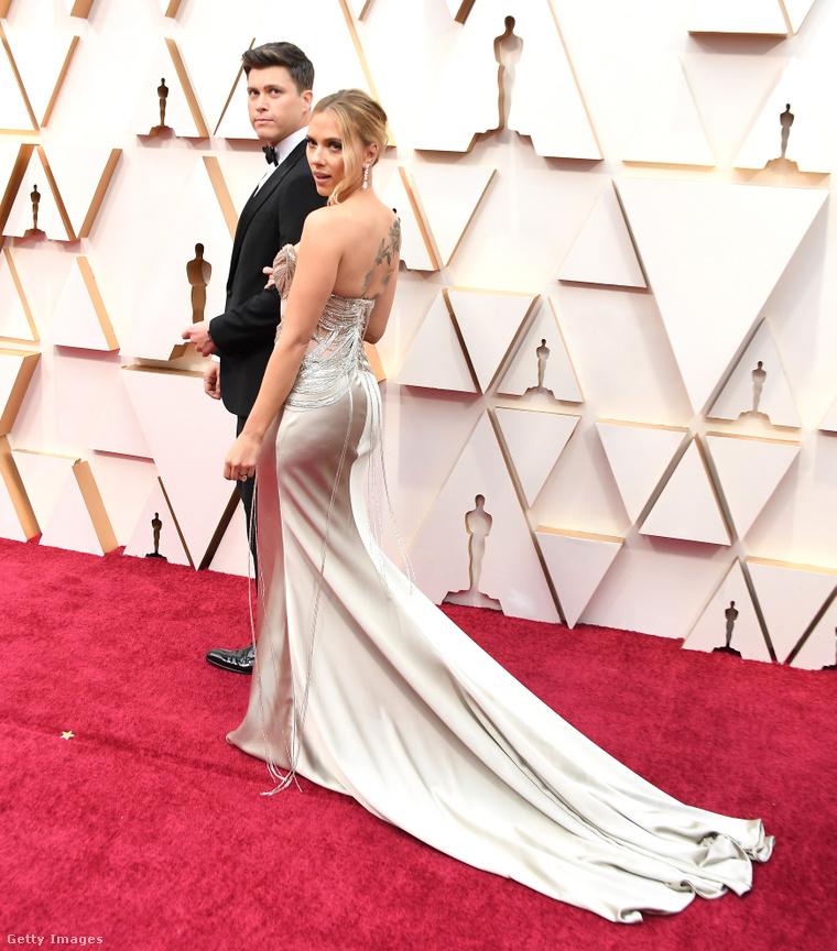 A pár az idei Oscar-díjkiosztón