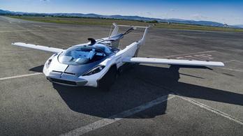 Egy repülő autó, ami tényleg repül