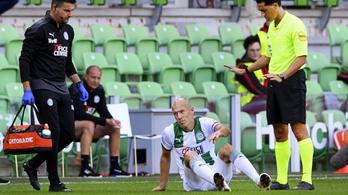 Ismét megsérült Arjen Robben