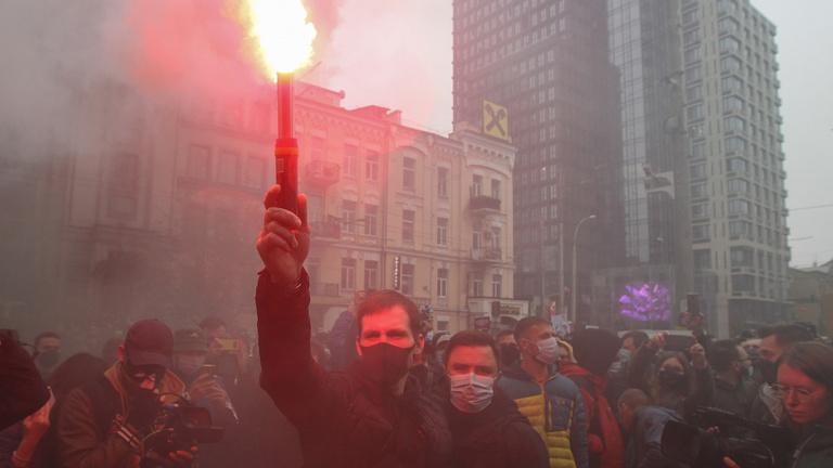 A korrupció elleni harc miatt áll a bál Ukrajnában