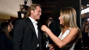 Matthew McConaughey szerint már nem izzik a levegő Jennifer Aniston és Brad Pitt között