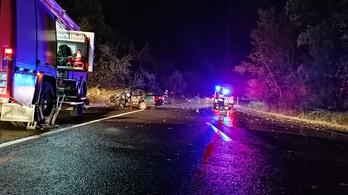 Három autó ütközött Vác határában