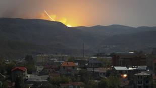 Putyintól kér segítséget Örményország az azeriek elleni harcban