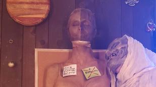 Heidi Klum idén sem feledkezett el a halloweenről