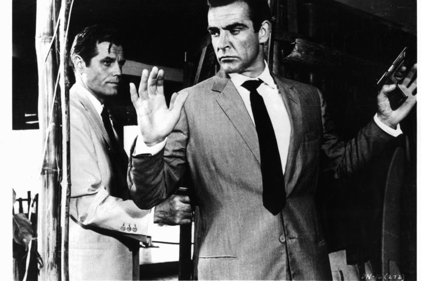 Sean Connery 1962-ben, a Dr. No című James Bond-filmben.
