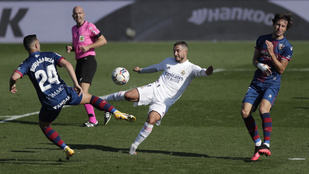 Eden Hazard 392 nap után talált be ismét a Real Madridban