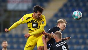 Mats Hummels duplázott; sorozatban hatodszor kapott ki a Mainz