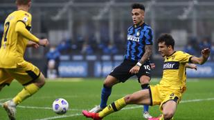 Balogh Botonddal a soraiban majdnem legyőzte a Parma az Intert
