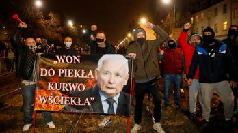 Tizedik napja tüntetnek Lengyelországban az abortusztörvény szigorítása ellen