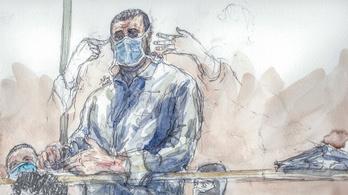 Elkapta a koronavírust a fővádlott, elnapolták a Charlie Hebdo támadóinak perét
