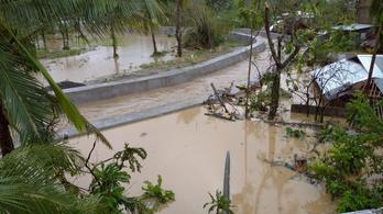 Lecsapott a Fülöp-szigetekre a Goni szupertájfun