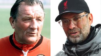 Jürgen Klopp az Anfield halhatatlanjai között