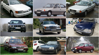 Az Év Autója-díj dobogósai mint használt autók VIII. – 1985-1987.