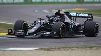 Hamilton nyert Imolában, a Mercedes 2020-ban is világbajnok