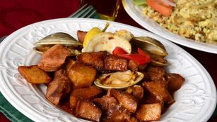 A sertéshús és a kagyló jóban vannak, főleg, ha portugál módra készíted el