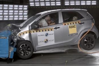 Nulla csillagos lett a Kia Picanto töréstesztje Latin-Amerikában