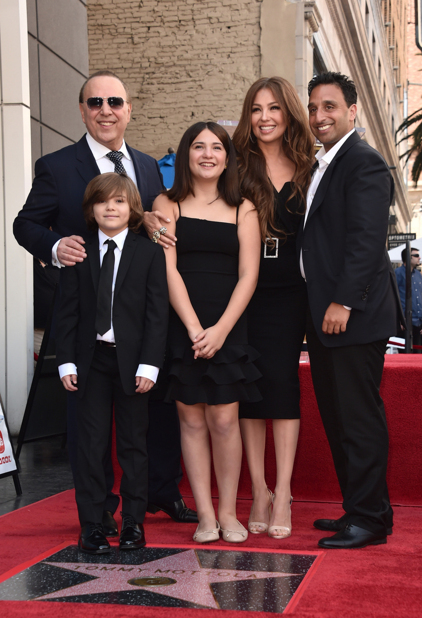 Tommy Mottola és Thalía két gyermeket nevelnek.