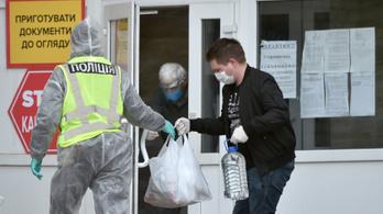 Meghaladta a négyszázezret Ukrajnában az azonosított fertőzöttek száma