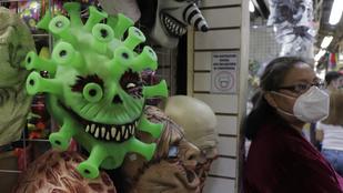 Vidámság és halottak napja – így ünnepelt Mexikó a koronavírus árnyékában
