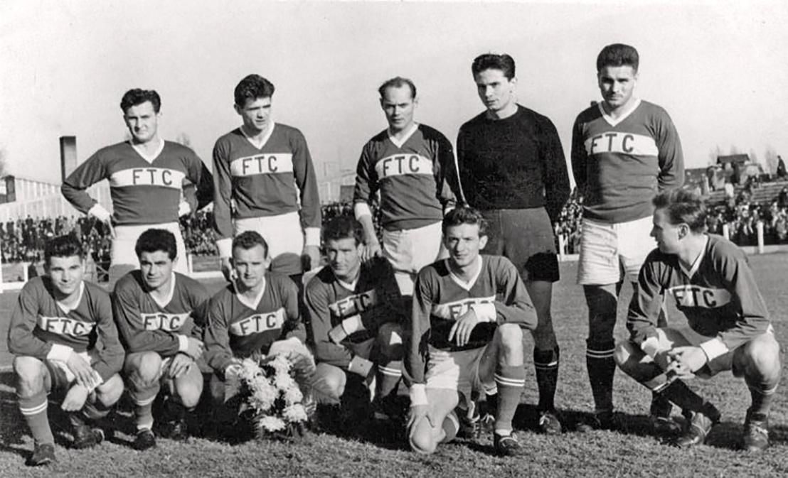 A Fradi újvidéki meccsén a Vojvodina ellen szerepelt csapat