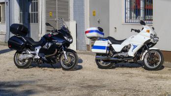 Használt: Moto Guzzi V75 PA (1999) és Norge 1200 (2007)