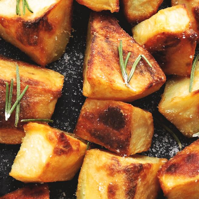 Belül krémes krumpli sütőben sütve – Ecettől lesz ropogós a külseje