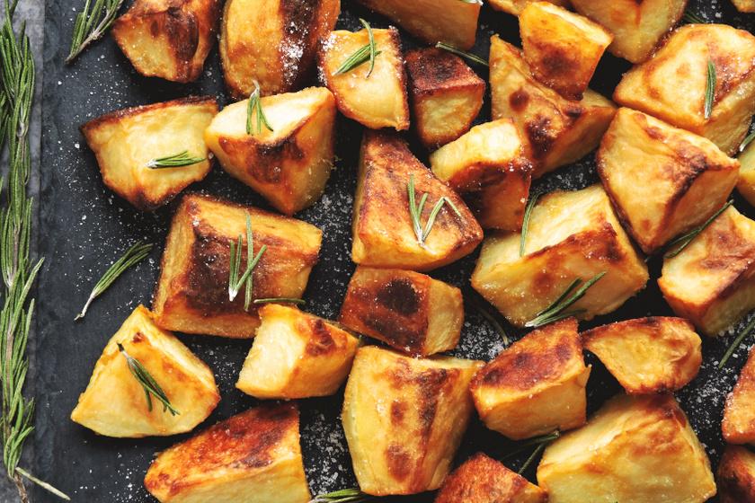 sütőben sült ecetes krumpli recept