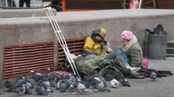 Tizenegyen fagytak halálra Magyarországon az őszi hidegben