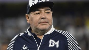 Maradona depressziós és kórházban van, hosszabb kezelés vár az isteni Diegora