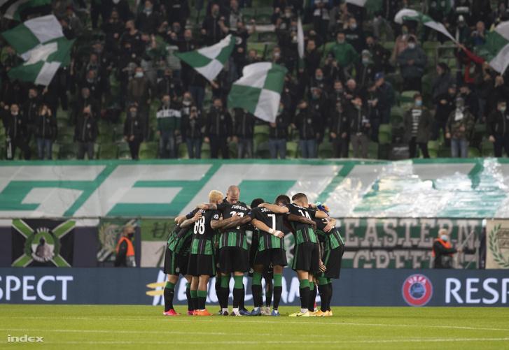 Ferencváros–Dinamo Kijev 2–2