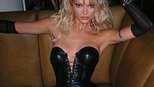 Kendall Jenner szexi Pamela Andersonként kezdi ünnepelni 25. születésnapját