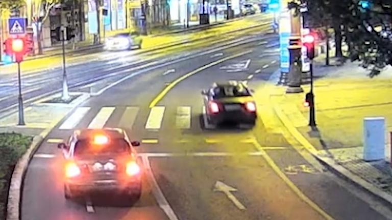 Sokkoló videó a Károly körúti halálos balesetről