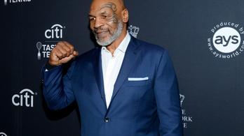 Mike Tyson exhokissal bunyózhat jövőre