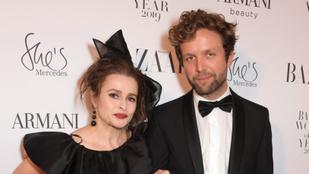 Helena Bonham Carter nagyon ritkán beszél 21 évvel fiatalabb barátjáról, de most megtette