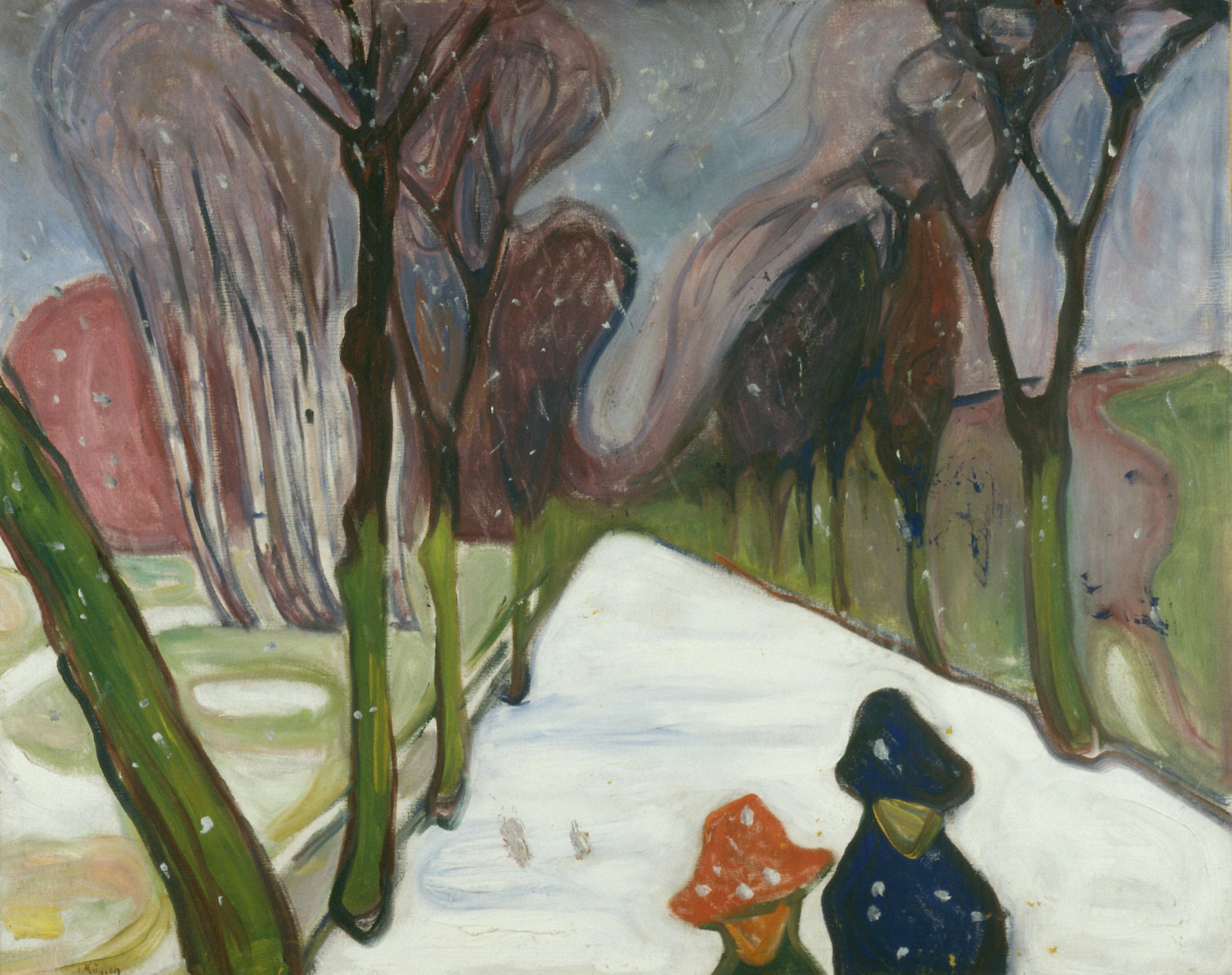 A sikoly a világ legismertebb képei közé tartozik. Az alkotó havas festményét kevesebben ismerik. Ki ő?