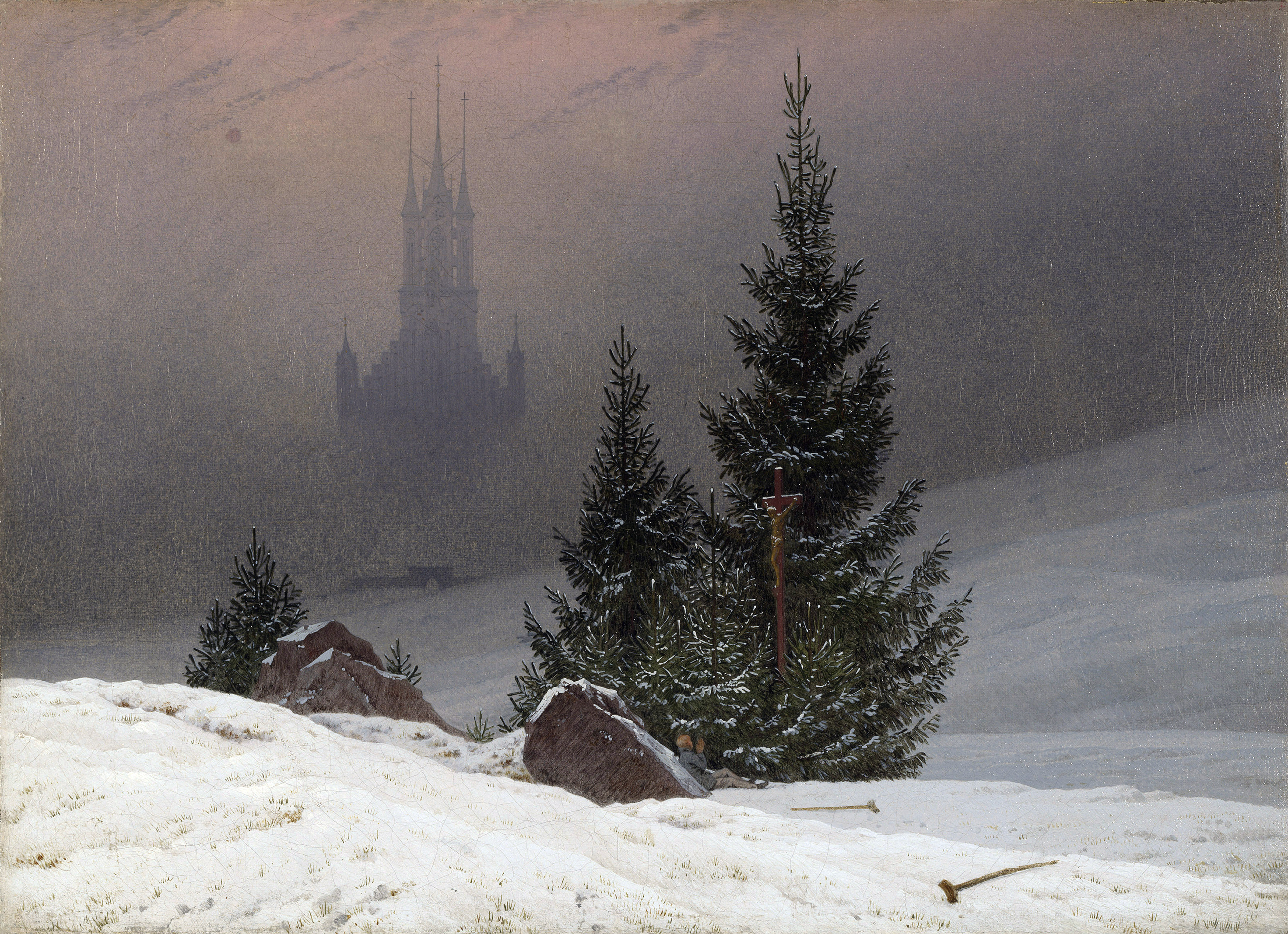 Itt a német romantika kiemelkedő alkotóját keressük, aki egy vándort is megörökített a ködtenger felett. Ki ő?