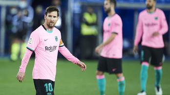 Messivel sem kivételez a Barcelona: csökkentik a fizetését