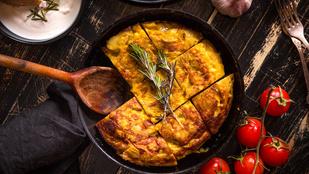Ez a spanyol omlett tökéletes minden hétvégi villásreggelihez