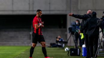 Kétmeccses eltiltást kapott a Budapest Honvéd futballistája
