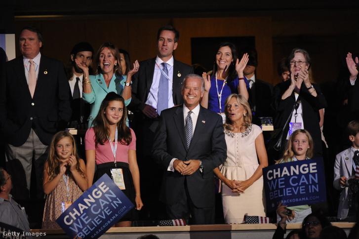 Joe Biden családjával, 2008-ban