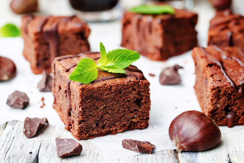 Villámgyors gesztenyés brownie: gluténmentesen is mennyei