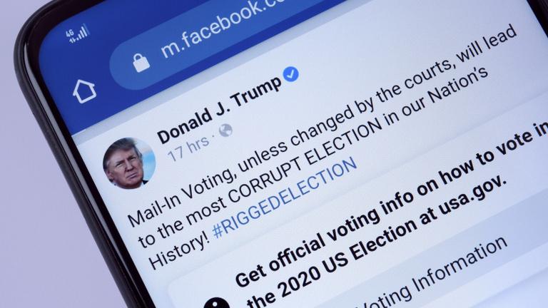 Dollárszázmilliókat emésztettek fel Trump és Biden közösségi médiás kampányai
