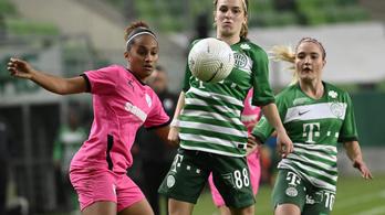A Ferencváros magabiztos győzelemmel jutott tovább a női BL-ben