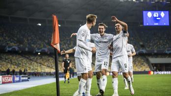 Hat gólt kapott hazai pályán a Real Madridot legyőző Sahtar a BL-ben!