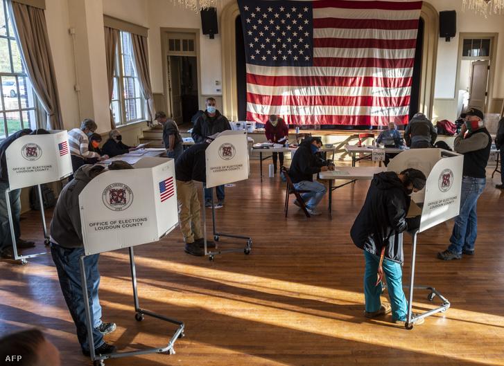 Szavazók Hillsboro Virginiában