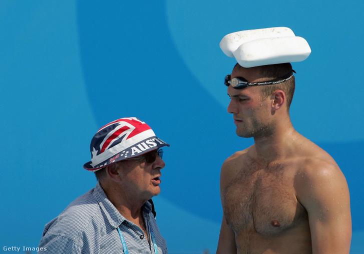 Don Talbot (balra) az egyik legsikeresebb ausztrál úszóedző volt