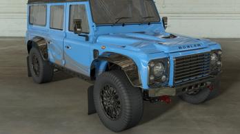 Az ős-Land Rover tovább él, rendszámos versenygépként