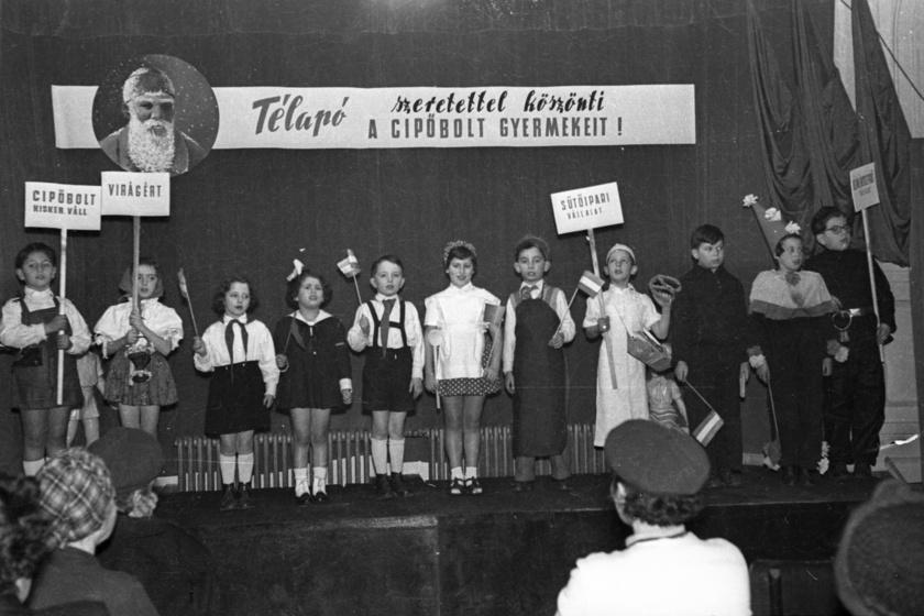 Télapó 1953-ban.
