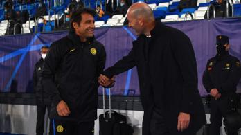 Zidane szerint megérdemelték a győzelmet, Conte csapata tartását emelte ki